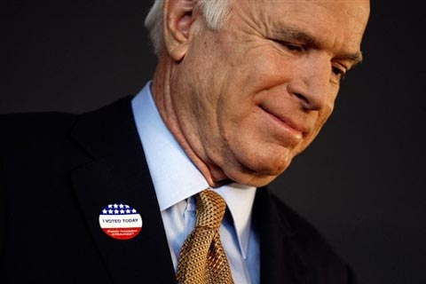 John McCain congratulated Barack Obama