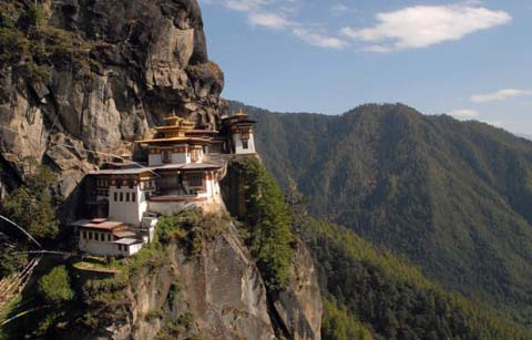 Himalayan country of Bhutan new king