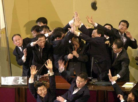 South Korean politicians