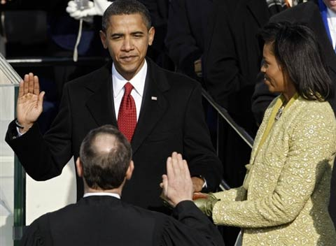 The Inauguration of US President - Barack Obama